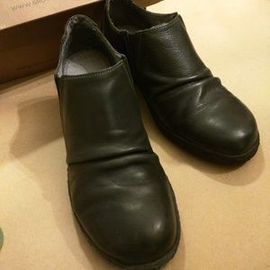 Grouundhog  SHOES/BOOTIE SIZE 38 NIB BLACK Leather